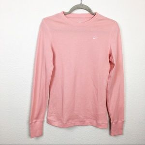 Nike pink long sleeve thermal
